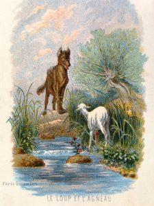 Le Loup Et L Agneau